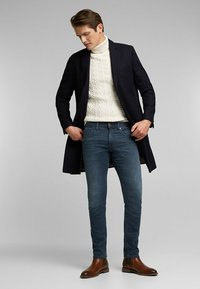 Esprit - Slim fit jeans - blue medium washed - 1