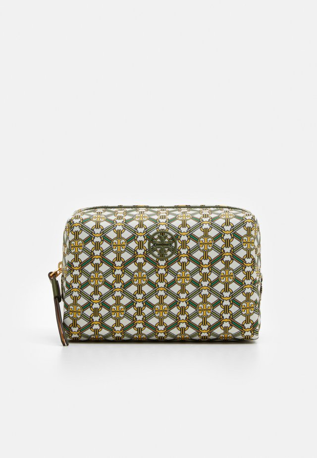 PIPER SMALL COSMETIC CASE - Wash bag - yellow gemini