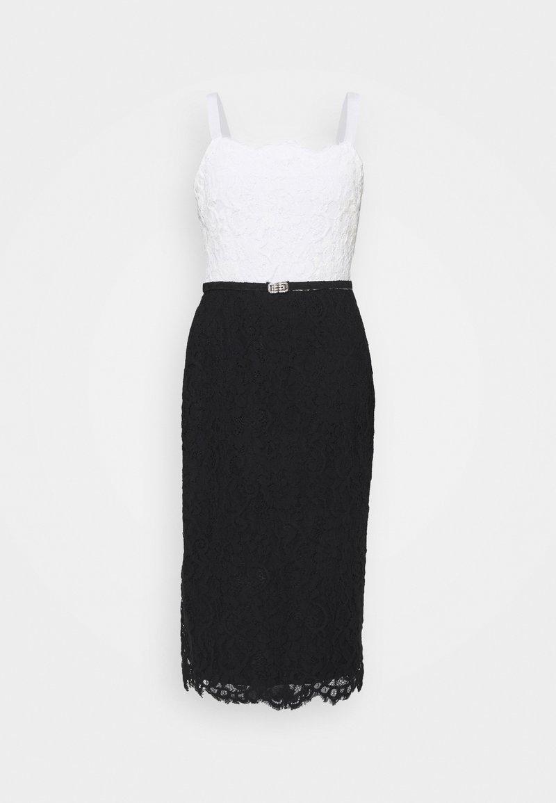 Lauren Ralph Lauren - DERBY - Koktejlové šaty/ šaty na párty - black/white