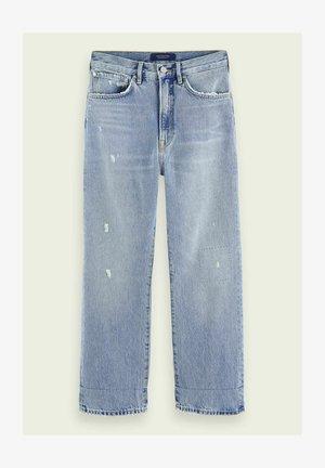 EXTRA BOYFRIEND   - Straight leg jeans - sea romance