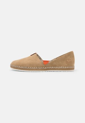 Slip-ons - sand/orange