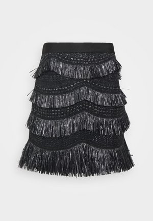 SKIRT - Mini skirt - black