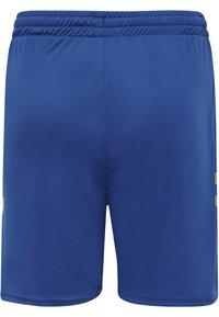 Hummel - DUO SET - Sports shorts - sports yellow/true blue - 2