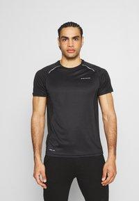 Endurance - LASSE TEE - T-shirt imprimé - black - 0