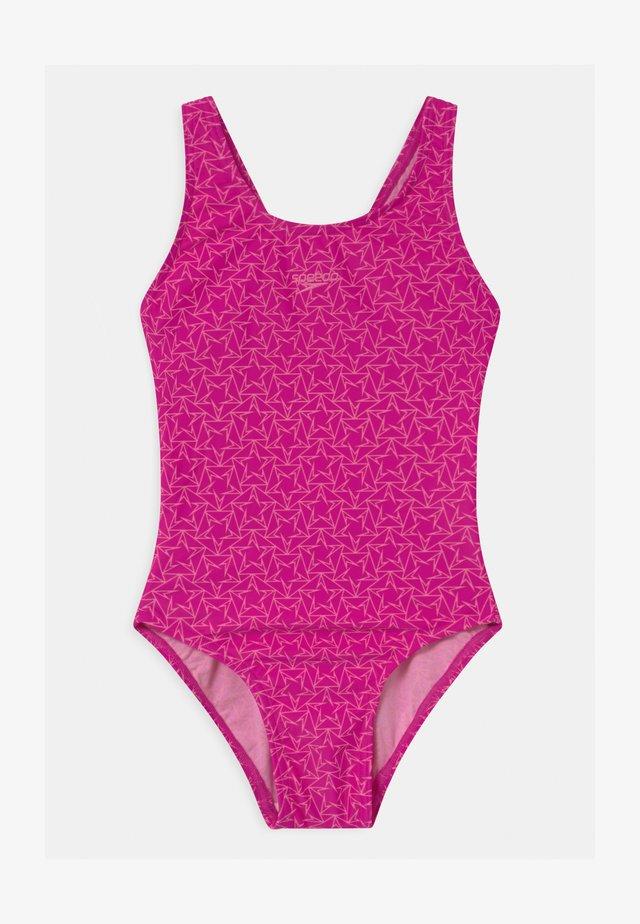BOOMSTAR  - Badeanzug - electric pink/galinda