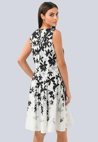 Alba Moda - Day dress - off-white grau schwarz - 1