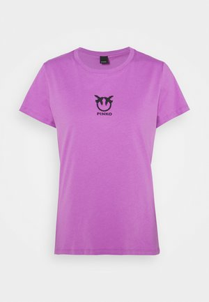BUSSOLANO  - T-shirts med print - lilac