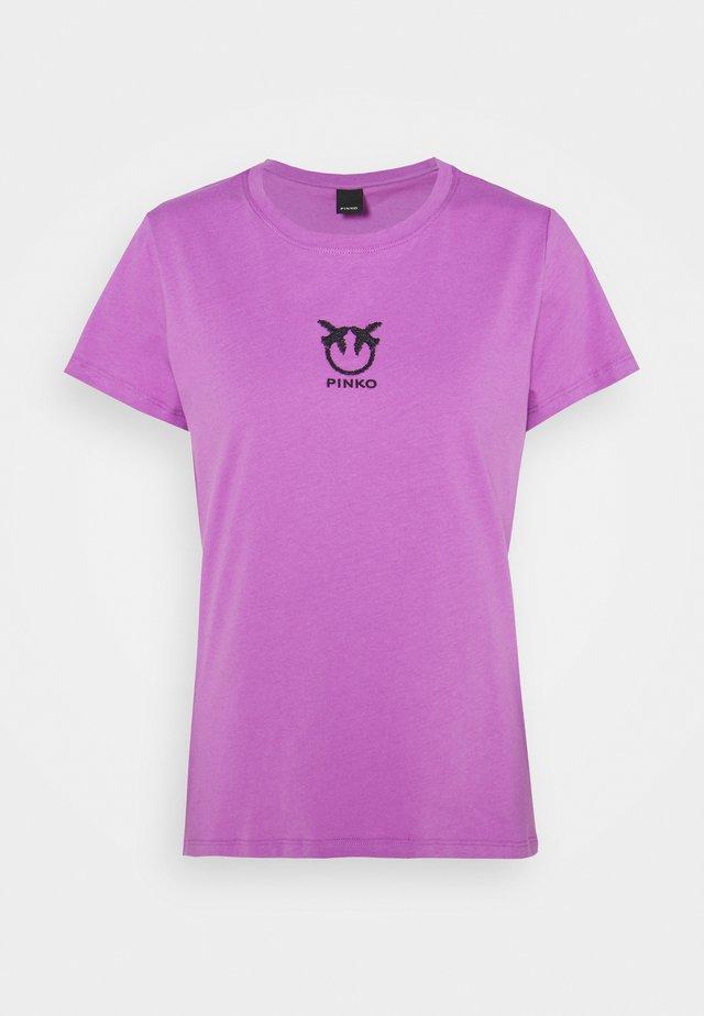 BUSSOLANO  - T-shirt print - lilac