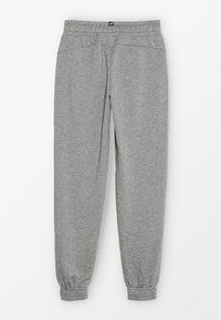Puma - LOGO PANTS - Trainingsbroek - medium grey heather - 1