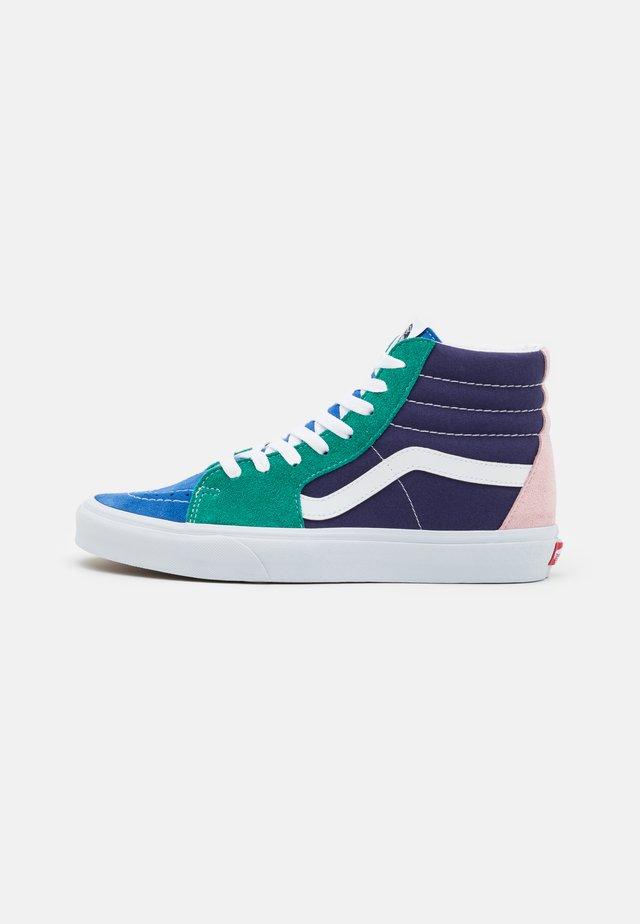 SK8-HI UNISEX - Sneakers hoog - multicolor/true white