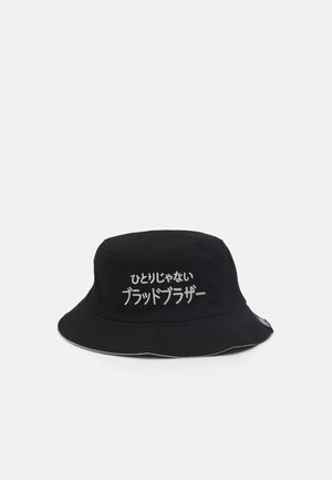 UNISEX - Hat - black/cream