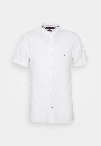 SLIM STRETCH MANDARIN SHIRT - Shirt - white