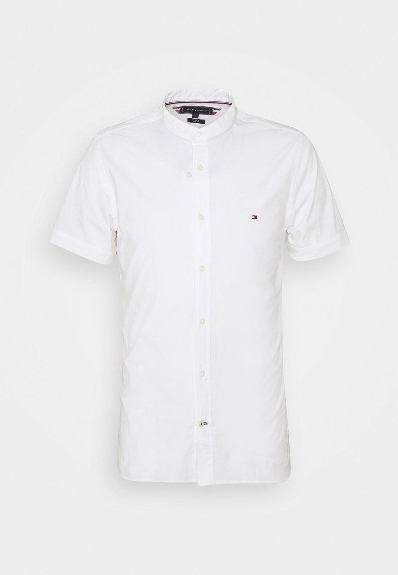 Tommy Hilfiger - SLIM STRETCH MANDARIN SHIRT - Shirt - white