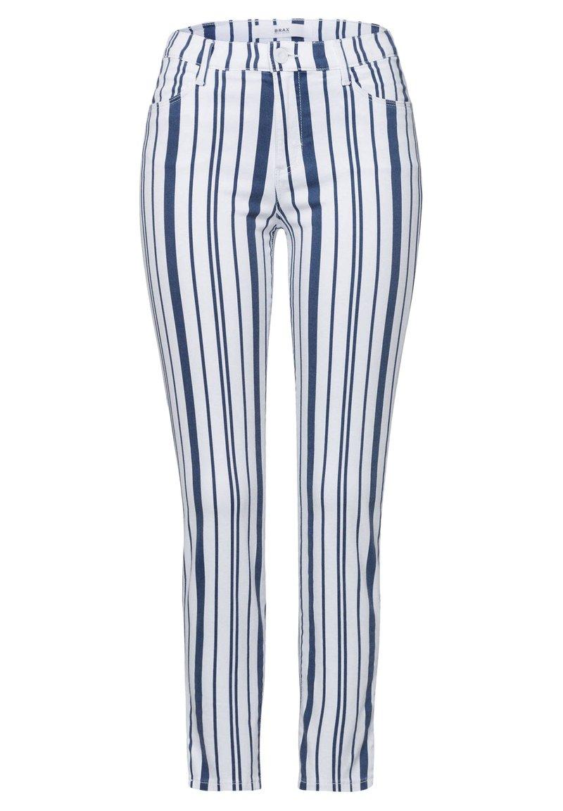 "BRAX - BRAX DAMEN HOSE ""SHAKIRA S"" SKINNY FIT - Trousers - bleu (50)"