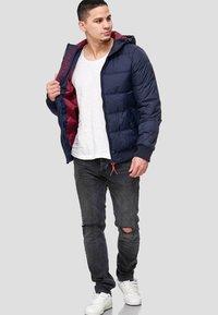 INDICODE JEANS - ADRIAN - Winter jacket - navy - 1