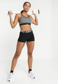Nike Performance - Leggings - black/white - 1