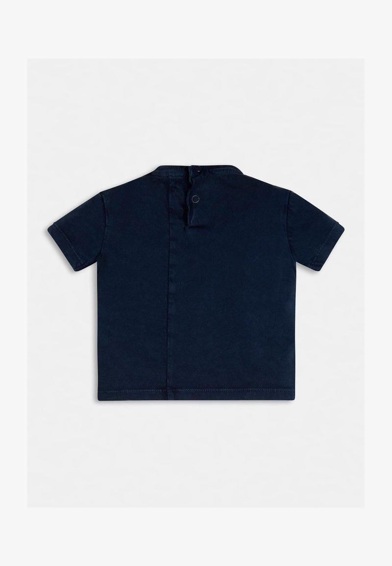 Guess - T-shirt print - blau