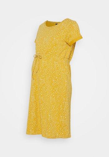 DRESS PEBBLES - Žerzejové šaty - tinsel