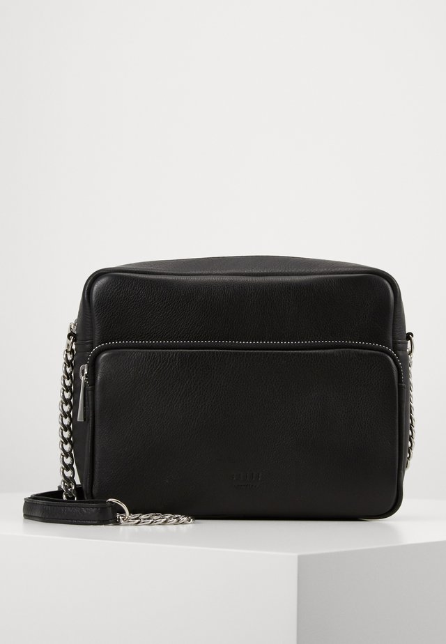 AGNES SHOULDERBAG - Across body bag - black
