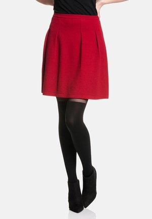 RIVOLI  - A-line skirt - rot