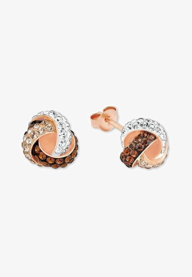 Earrings - apricot