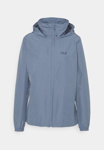 STORMY POINT JACKET  - Waterproof jacket - frost blue