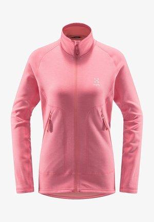 HERON - Fleece jacket - tulip pink