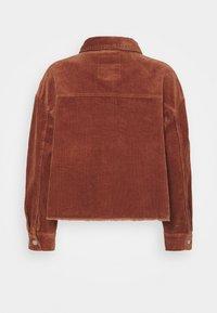 ONLY - ONLMARINA BITTEN LIFE - Summer jacket - rustic brown - 7