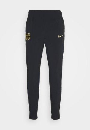 FC BARCELONA PANT - Club wear - black/metallic gold