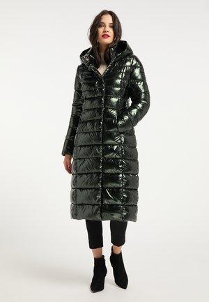 Down coat - smaragd