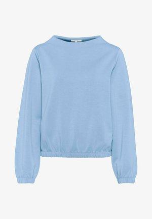 GABBI - Long sleeved top - blue