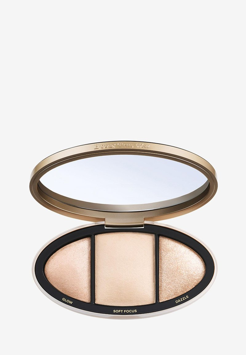 Too Faced - BORN THIS WAY TURN UP THE LIGHT HIGHLIGHTING PALETTE - Highlighter - light