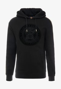 Glorious Gangsta - MERCY LOGO HOODIE  - Luvtröja - black - 4