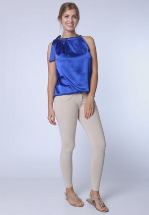 Blouse - gloss blue