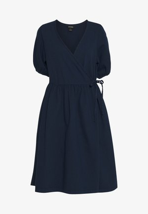 RAMONA DRESS - Denní šaty - blue medium dusty