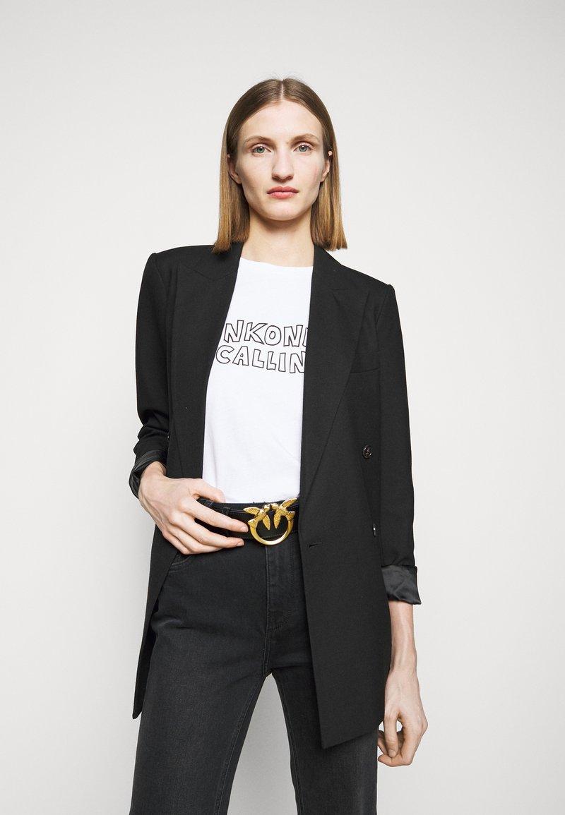 Pinko - LOVE BERRY SIMPLY BELT - Belte - black