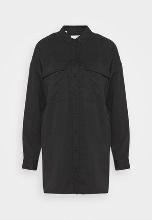 SLFMIRANDA LONG - Button-down blouse - black