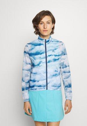 MINA WIND GOLF JACKET - Giacca sportiva - cloud midnight summer blue