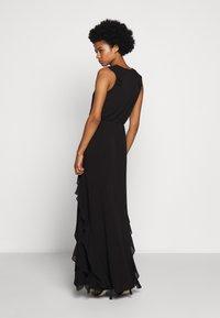 MICHAEL Michael Kors - SOLID RUFFLE MAXI - Occasion wear - black - 2