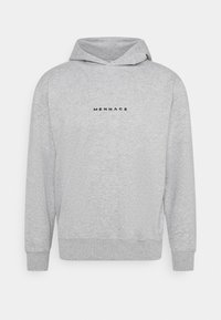 Mennace - ESSENTIAL REGULAR HOODIE UNISEX - Sweatshirt - grey marl - 4