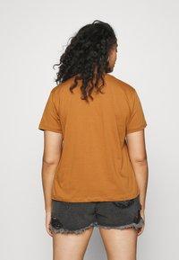 Even&Odd Curvy - Print T-shirt - brown - 2