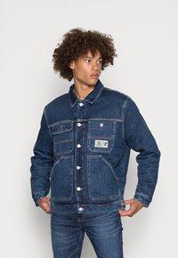 Tommy Jeans - Jakna iz džinsa - denim dark - 0