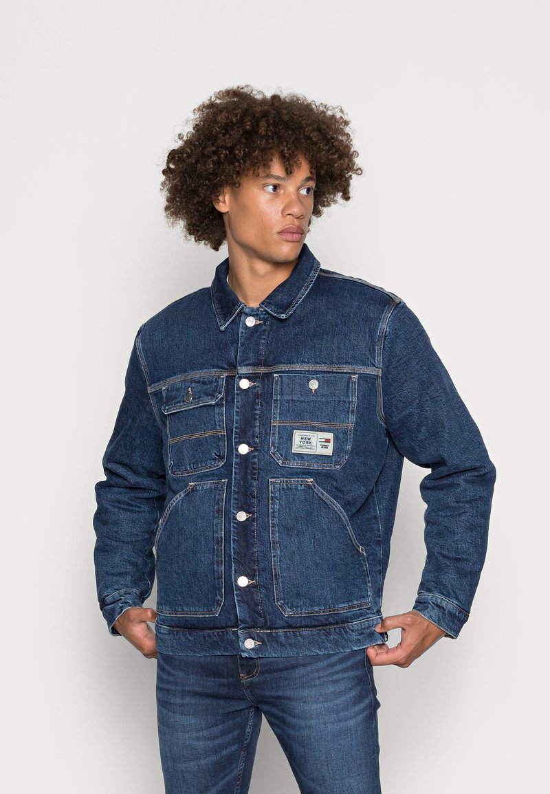 Tommy Jeans - Jakna iz džinsa - denim dark
