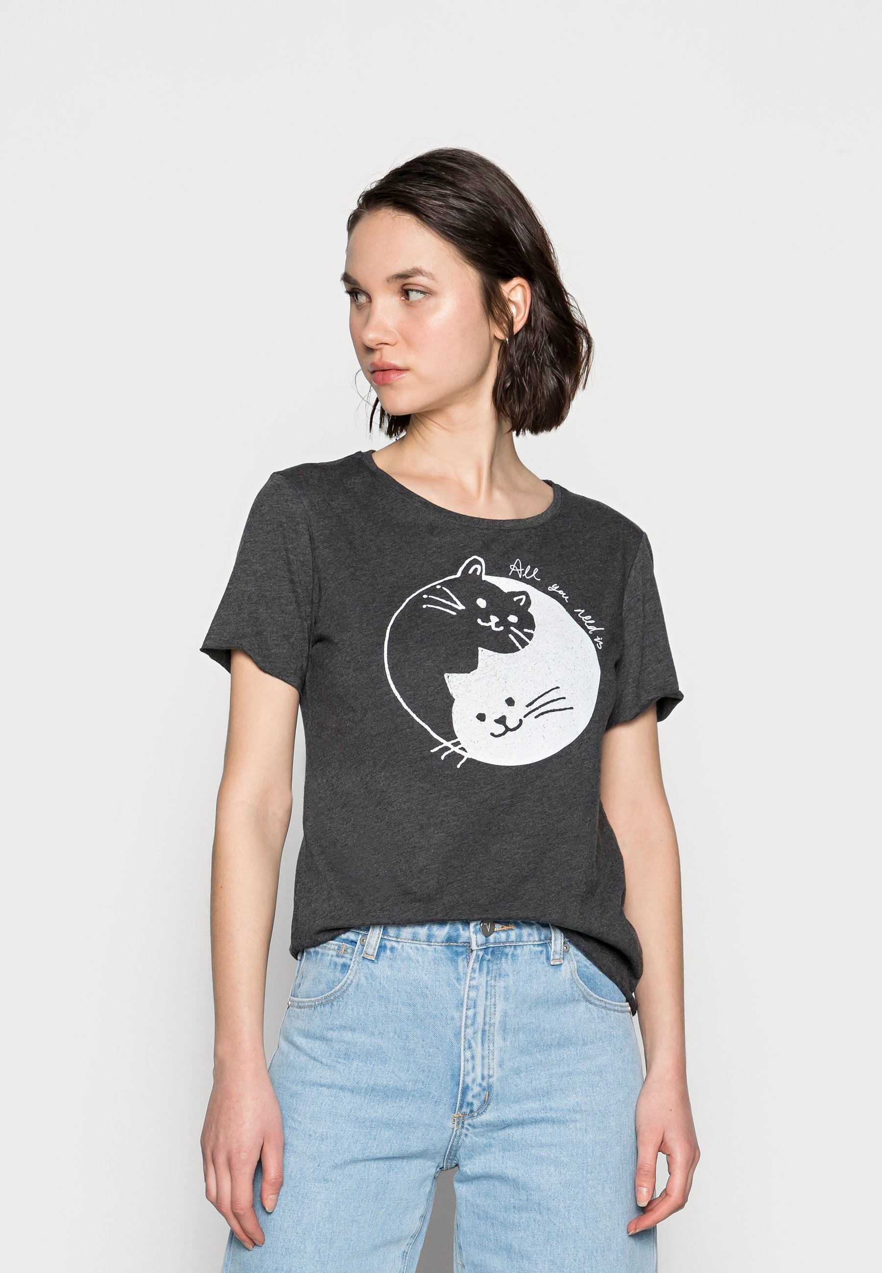 Damen CATS PRINTED TEE - T-Shirt print