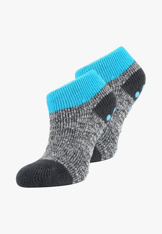 WITH ABS 2 PACK - Socks - anthracite