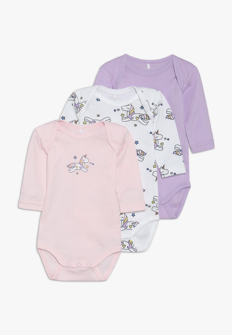 Name it - NBFBODY UNICORN 3 PACK - Body - lavendula