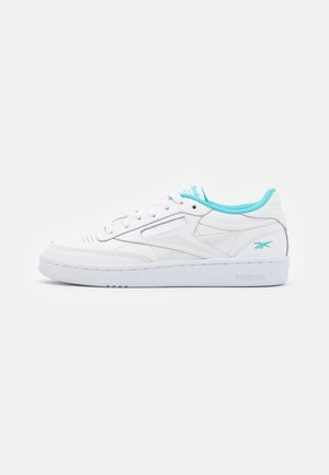 CLUB C 85 - Sneakers - white/neon blue