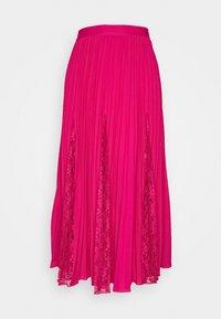 Guess - LUISA SKIRT - Pleated skirt - shocking pink - 4