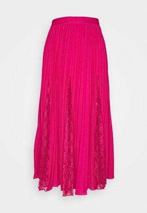 LUISA SKIRT - Pleated skirt - shocking pink