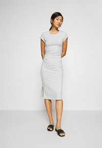 Anna Field - Shift dress - mottled grey - 1